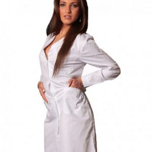 Camice donna bianco classico