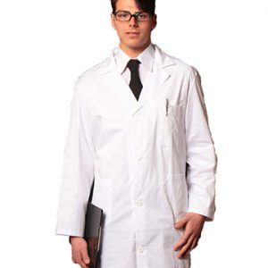 camice medico uomo classico