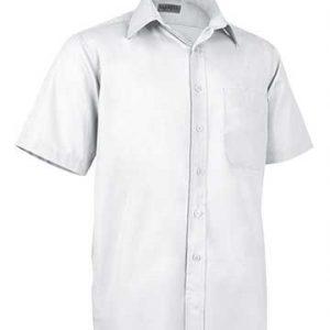 camicia bianca uomo manica corta