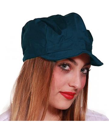 cappellino blu visiera unisex