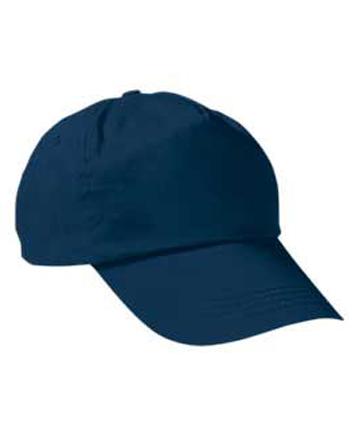 cappellino blu in cotone