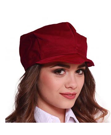 cappellino bordeaux visiera unisex