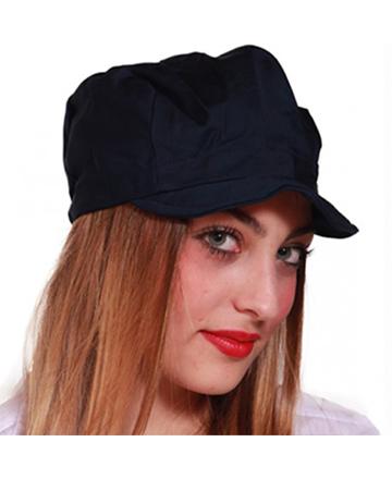 cappellino nero visiera unisex