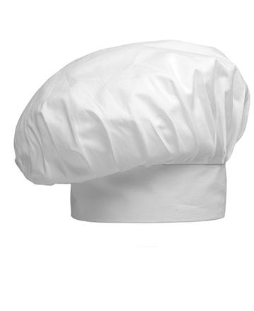 cappello bianco cuoco tcd