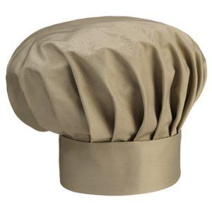 cappello cuoco beige ego chef