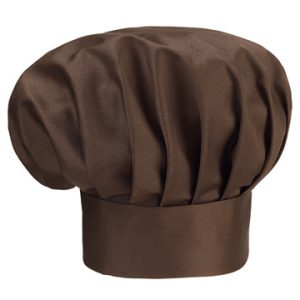 cappello cuoco marrone ego chef