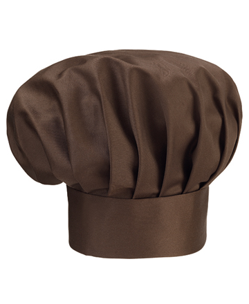 cappello cuoco marrone ego chef