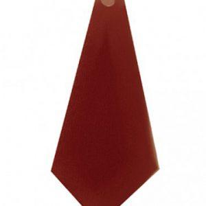 cravattino rosso donna