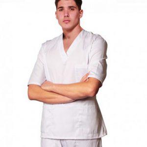 divisa-completa-unisex- bianca mezza manica