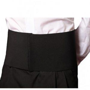 fascia elastica cameriere nera