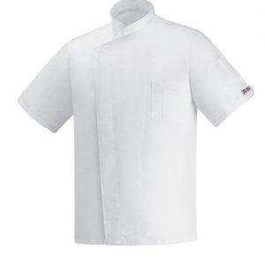 giacca cuoco ottavio microfibra bianca ego chef