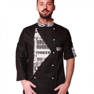 giacca fumetto nera