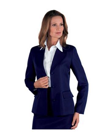 Giacca donna blu Portland Isacco ideale per settore alberghiero e personale  di sala. 237f8ec4167e