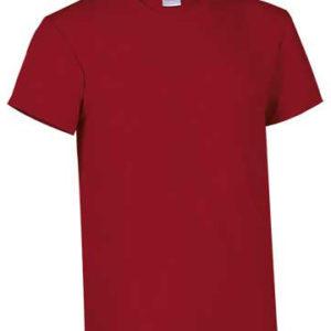 maglia cotone rosso