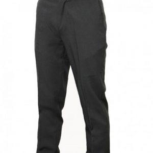 pantalone classico uomo nero