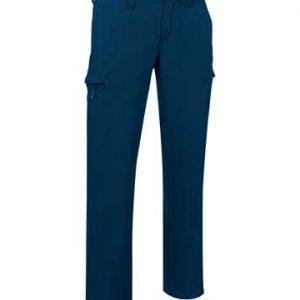 pantalone softshell blu