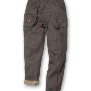 Pantalone verde foderato ideale per la caccia.