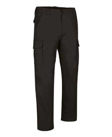 pantaloni multitasche neri