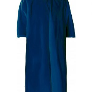 poncho economico blu