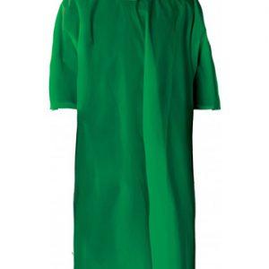 poncho economico verde