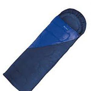 Sacco a pelo bicolor Ferrino. Esterno: 100% Poliestere - Interno: Polycotton - Imbottitura: Fibre H4 250 gr/m2 (2 strati)