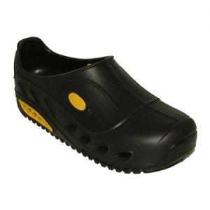 zoccolo sunshoes con puntale nero