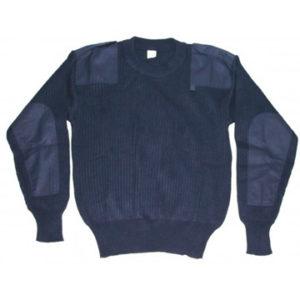 Maglione scout blu con toppe. Taglie disponibili: XXL Ragazzo - XS - S - M - L - XL - XXL