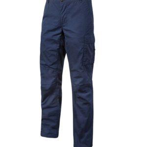Pantalone da lavoro marca U-Power modello Baltic blu