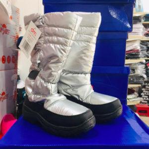 scarponcino neve donna argentato