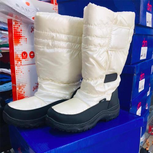 Scarpe da neve donna bianco - Abiti da lavoro e scout a808521f36c