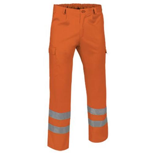 Pantalone alta visibilità arancio