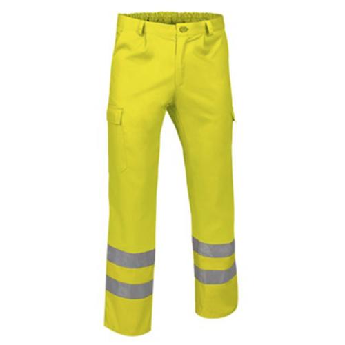 Pantalone alta visibilità giallo