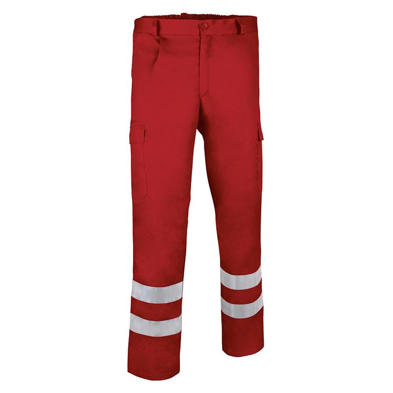 Pantalone alta visibilità rosso